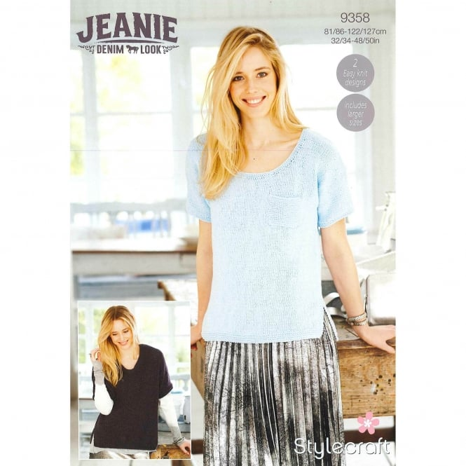 Stylecraft 9358 Jeanie Denim Look Leaflet