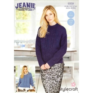 Stylecraft 9359 Jeanie Denim Look Leaflet