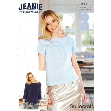 Stylecraft 9360 Jeanie Denim Look Leaflet