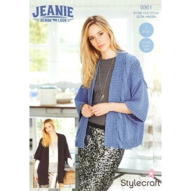 Stylecraft 9361 Jeanie Denim Look Leaflet