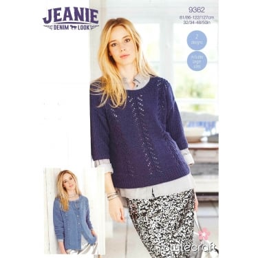 Stylecraft 9362 Jeanie Denim Look Leaflet
