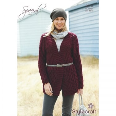 Stylecraft Special Aran Knitting Pattern 9073