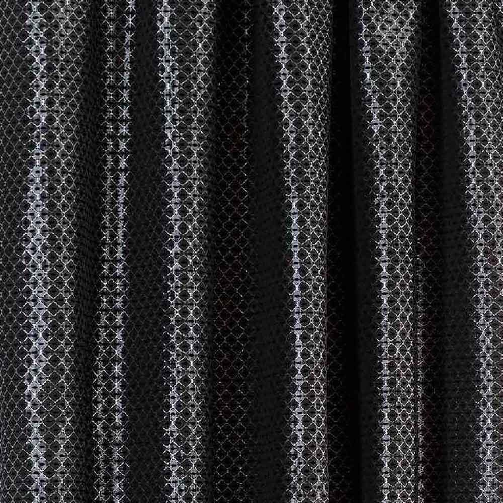 Sicily Black Textured Ready Made Curtains | Closs  for Black Curtains Texture  588gtk