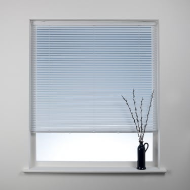 Swish 25mm Polar White Cordless Venetian Blinds