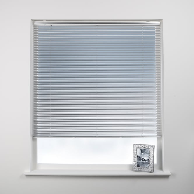 Swish Brushed Aluminium Cordless Venetian Blind 60cm x 120cm