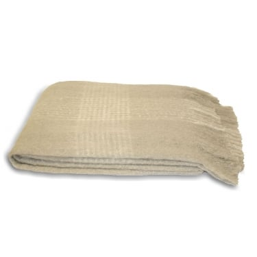 Taupe Cairngorm Throw