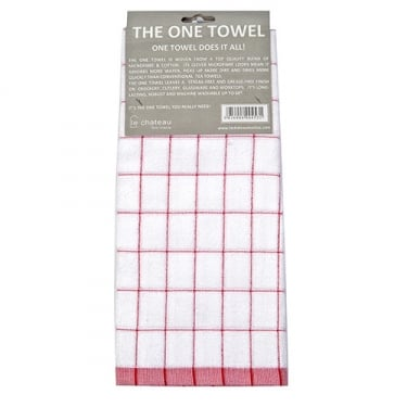 The One Tea Towel - Red