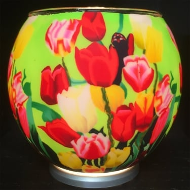 Tulips Tealight Holder