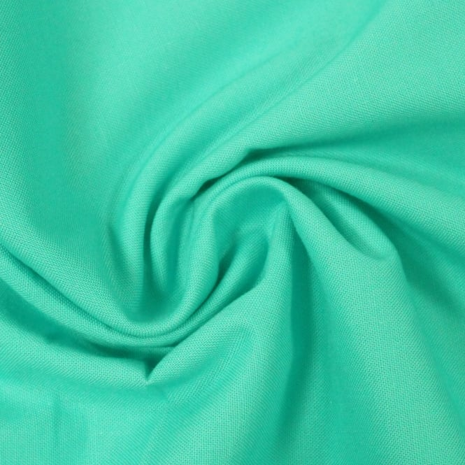 Turquoise Craft Cotton Fabric