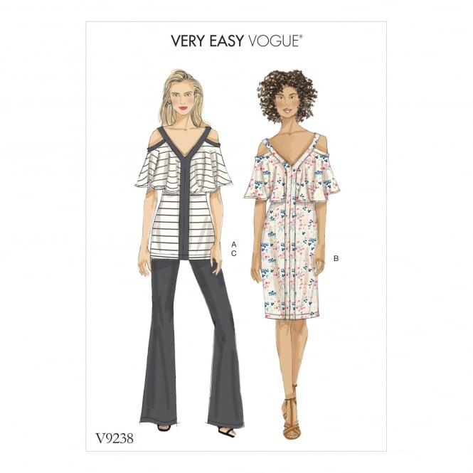 Vogue Pattern 9238 A5 Size 6 - 14