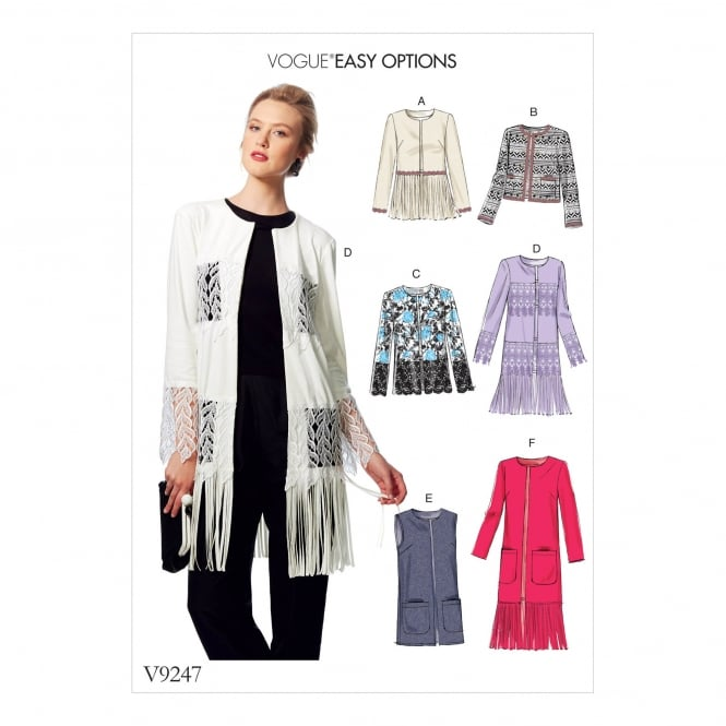 Vogue Pattern 9247 Y Size XS - M