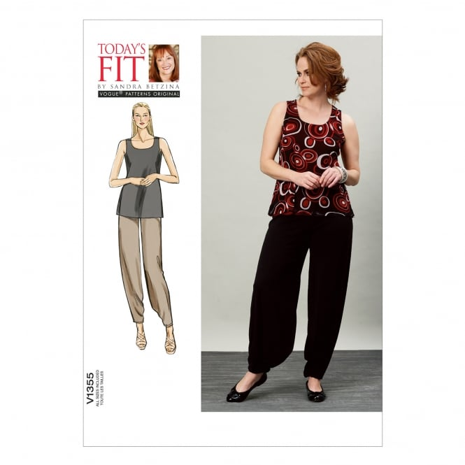 Vogue Sewing Pattern 1355 All Sizes