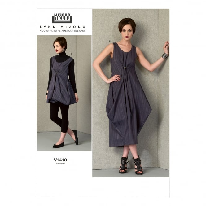 Vogue Sewing Pattern 1410 A5 Size 6 - 14