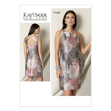 Vogue Sewing Pattern 1481 E5 Size 14 - 22
