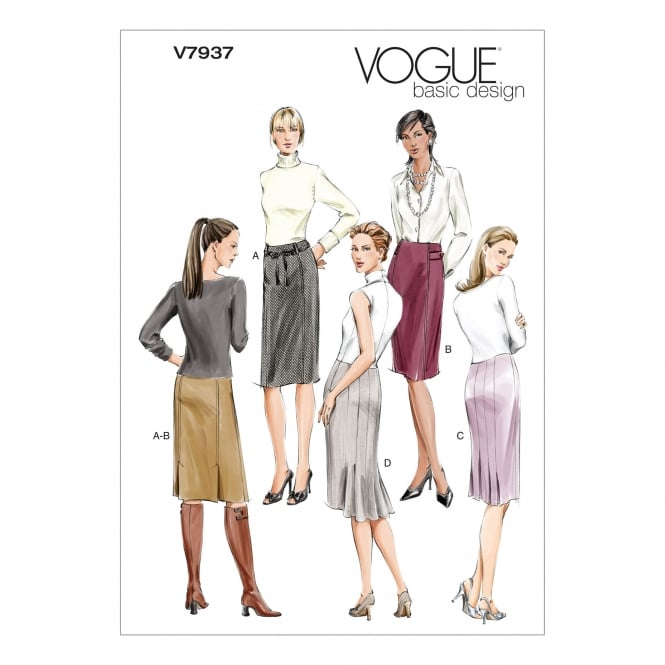 Vogue Sewing Pattern 7937 FW Size 18 - 22