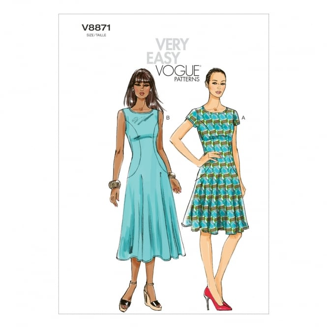 Vogue Sewing Pattern 8871 Size 8-16