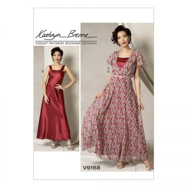 Vogue Sewing Pattern 9168 E5 Size 14 - 22