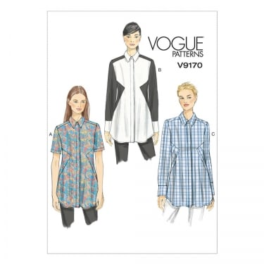 Vogue Sewing Pattern 9170 E5 Size 14 - 22