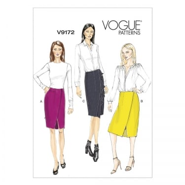 Vogue Sewing Pattern 9172 E5 Size 14 - 22