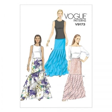 Vogue Sewing Pattern 9173 E5 Size 14 - 22