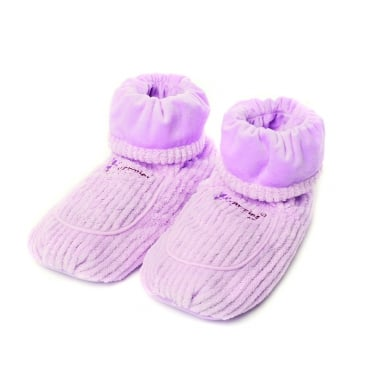 Warmies Lilac Spa Therapy Microwaveable Boots