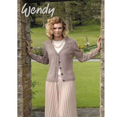 Wendy 5689 4 Ply Leaflet