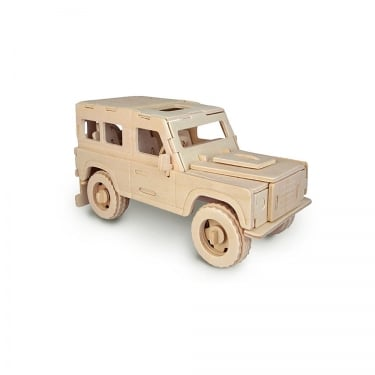 Woodcraft Construction Kit - Land Rover