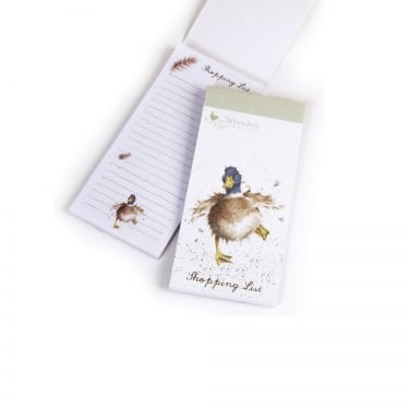 Wrendale Designs 'A Waddle & a Quack' Duck Magnetic Shopping Pad