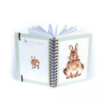 Wrendale Designs A5 Spiralbound Rabbit Notebook