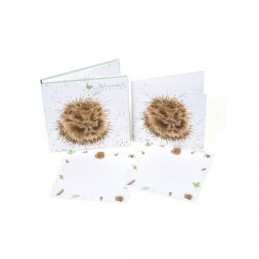 Wrendale Designs 'Awakening' Hedgehog Notecard 12 Pack
