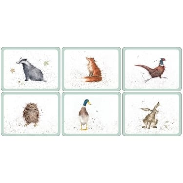Wrendale Placemats - Set of 6