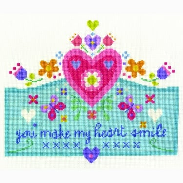 You Make My Heart Smile Stitch Kit
